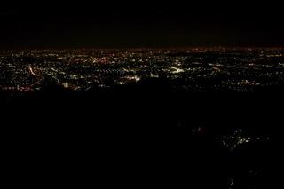 高尾山より夜景