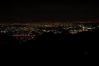 高尾山より夜景(金比羅台)