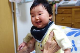 笑顔の心菜ちゃん