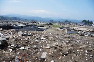 住宅地の被害