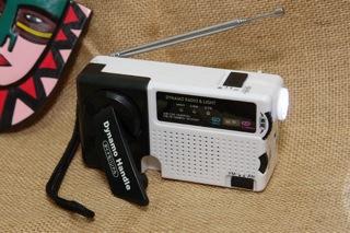 充電式ライトラジオ