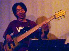 ベーシスト永井健二郎ライブ