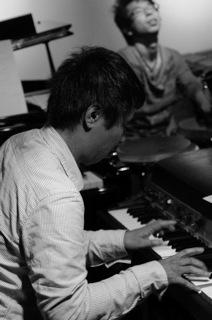 阿部氏と萱谷氏 (Percussion)